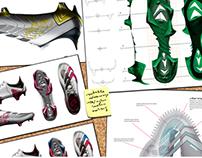 Hummel BuzzyHornet - football shoe concept