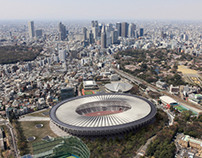 Japan National Stadium competition