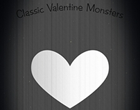 Classic Valentine Monsters