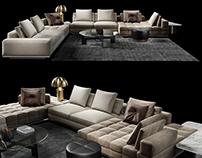 3D Modeling & Visualization of Minotti