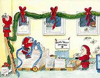 My working Santas :-)