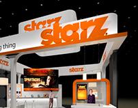 STARZ! Exhibit Design