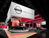 Nissan 108' x 110' Auto Show Concept