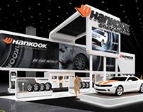 Hankook Tires - 50' x 90' Island