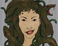 Medusa Stamp