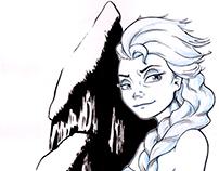 Ink Elsa
