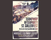 St. Gallerfest Afterparty Flyer