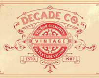 Vintage Vector Elements and Textures