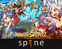 Monster Sweeperz - Spine Works