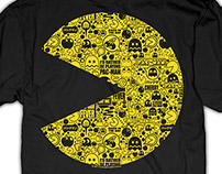 Pac-Man Licensed Tees