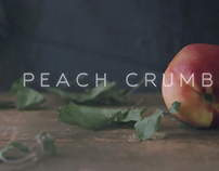 Peach Crumble, a food film