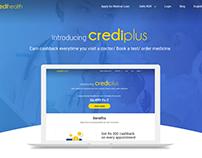 Crediplus Landing Page Design