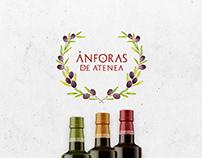 Greek Olive Oil. Brand & Labels.