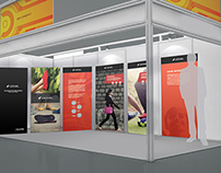 Booth Design for Lechal - CII Delhi 2014