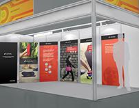 Booth Design for Lechal - CII Delhi 2014