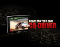 TOYOTA DAKAR - Co-Driver GPS