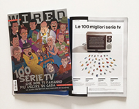 Wired Italia - July/August 2015 - Cover Story Design