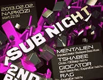 sub night 2nd bday