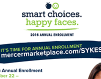 SYKES Annual Benefits Enrollment Campaign - Poster