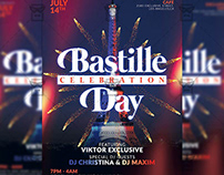 Bastille Day Celebration - Club A5 Template