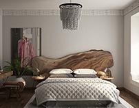 Ethnic girl bedroom