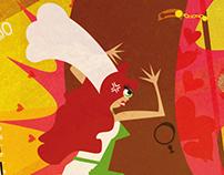 Cuento Ilustrado - Ilustraciones Vectoriales