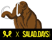 Illustration X SALAD.DAYS magazine