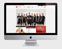 Club Mansfield - Site web