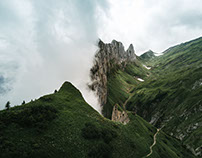 Cloud Gazing, Switzerland 2017