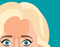 Hilary Clinton Caricature