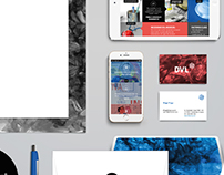 DVL: Corporate identity · UX-UI website