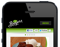 Breyers Mobile Website