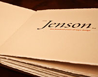 Jenson Type Specimen Book
