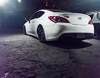 Hyundai Genesis - BzStyle Suspension Neumatica