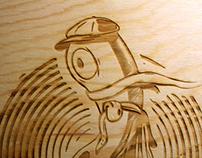 On - wood