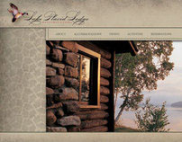 Lake Placid Lodge Website Concepts