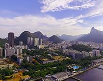 Dronie docks Rio