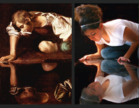 Photographic Reiniterpretations of Caravaggio & Vermeer