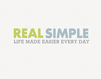 Real Simple Site Redesign