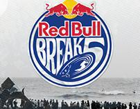Red Bull Break 5 Branding