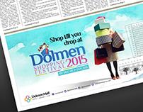 Dolmen Shopping Festival 2015