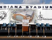 Lucas Oil Stadium Groundbreaking Ceremony