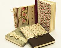 Handmade fabric book