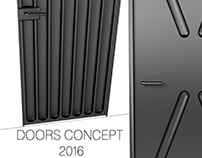 Doors concept 2016