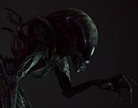 Alien CGI model