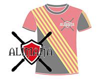 Logo + Camiseta Alimaña Equipo de Jugger Zaragozano