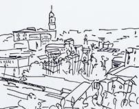 Ilustraciones Málaga 2015