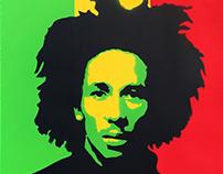Stencil - Bob Marley