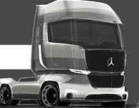 Speedpaint - Mercedes-Benz Truck