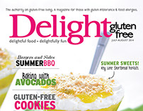 Delight Gluten-Free Magazine July | August 2014